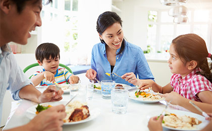 Enjoy Regular Family Meals